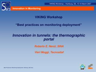 Innovation in Monitoring