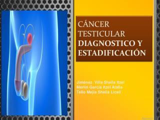 CÁNCER TESTICULAR DIAGNOSTICO Y ESTADIFICACIÓN