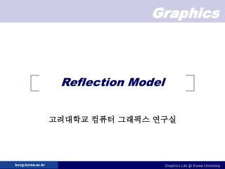 Reflection Model