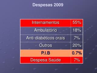 Despesas 2009