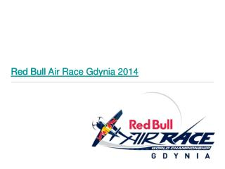 Red Bull Air Race Gdynia 2014