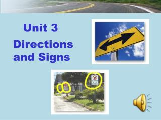 Directions      and Signs