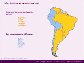 Iniciativa Niñ@sur - Acciones de incidencia del Grupo Región Sur de la Redlamyc