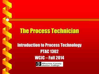 The Process Technician