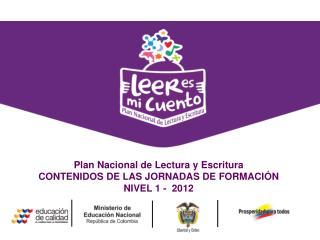 Estrategia  de comunicaci�n digital y de redes sociales  Plan Nacional de Lectura y Escritura