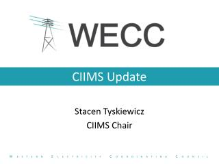 CIIMS Update