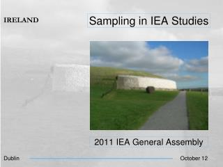 Sampling in IEA Studies