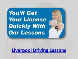 Liverpool Driving Lessons