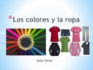 Los colores y la ropa