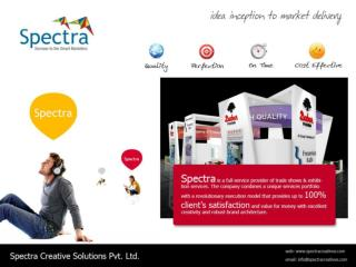 Spectra :  Services We Offer