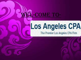 Tax Accountant Los Angeles and Forensic Accounting Los Angel