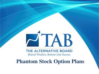 Phantom Stock Option Plans
