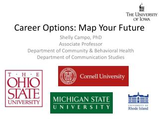 Career Options: Map  Your Future
