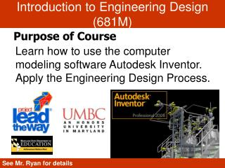 Introduction to Engineering Design (681M)