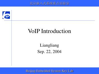 VoIP Introduction