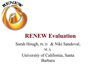 RENEW Evaluation