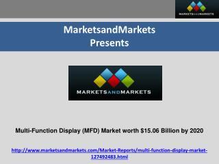 Multi-Function Display Market