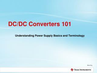 DC/DC Converters 101