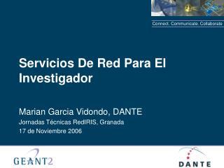 Servicios De Red Para El Investigador