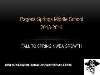 Fall to Spring NWEA Growth