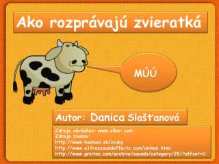 Ako rozprávajú zvieratká