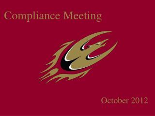 Compliance Meeting