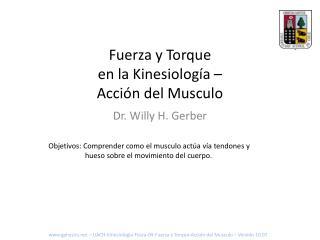 Fuerza y Torque en la Kinesiología – Acción del Musculo