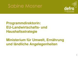 Sabine Mosner