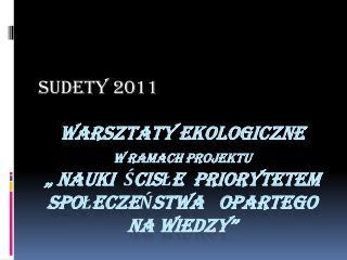 SUDETY 2011