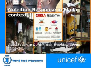 Nutrition Response in Ebola context