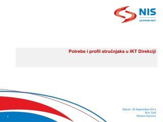 Potrebe i profil stručnjaka u IKT Direkciji