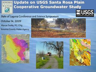 Update on USGS Santa Rosa Plain Cooperative Groundwater Study