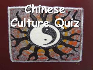 Chinese Culture Quiz
