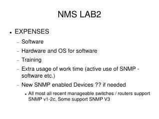 NMS LAB2