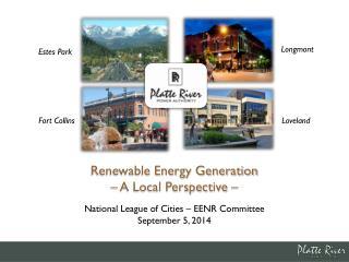 National League of Cities – EENR Committee September 5, 2014
