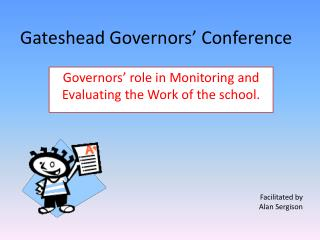 Gateshead Governors  Conference