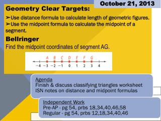 Geometry Clear Targets: