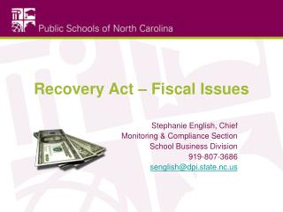Recovery Act – Fiscal Issues