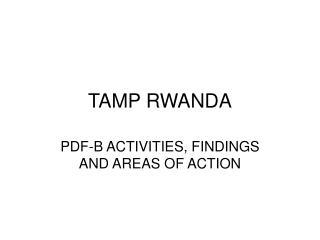 TAMP RWANDA