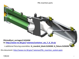 PXL insertion parts
