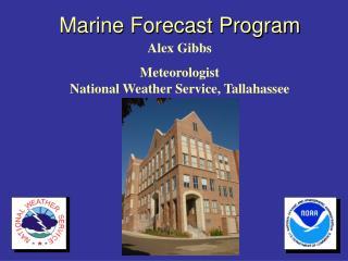 Marine Forecast Program