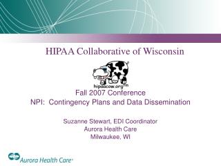 HIPAA Collaborative of Wisconsin Fall 2007 Conference