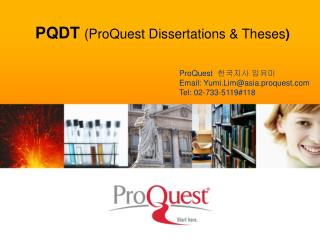 PQDT  (ProQuest Dissertations & Theses )