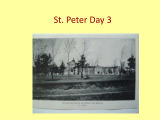 St. Peter Day 3