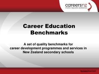 Career Education  Benchmarks