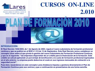 CURSOS  ON-LINE 2.010