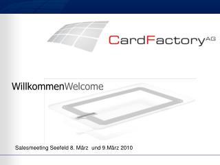 Salesmeeting  Seefeld  8. M�rz   und  9.M�rz 2010