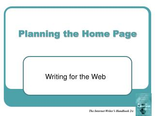 Planning the Home Page
