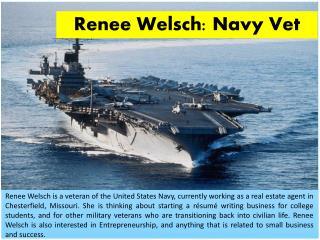 Renee Welsch: Navy Vet