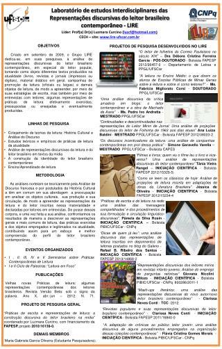 Líder:  Prof (a )  Dr (a )  Luzmara Curcino  ( luzcf@hotmail )